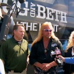 Topo Padilla, Dog The Bounty Hunter and Beth
